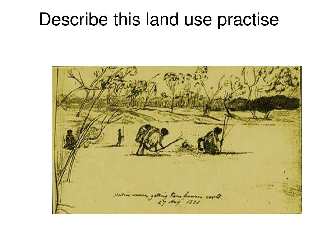 Describe this land use practise