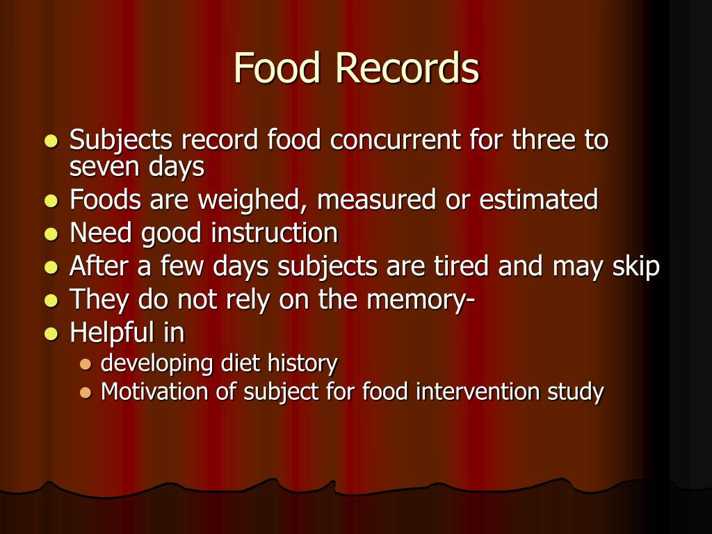 Food Records