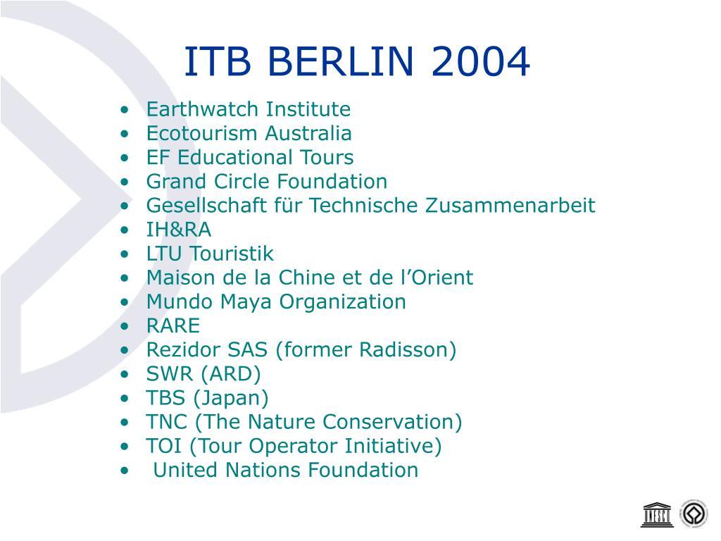 ITB BERLIN 2004