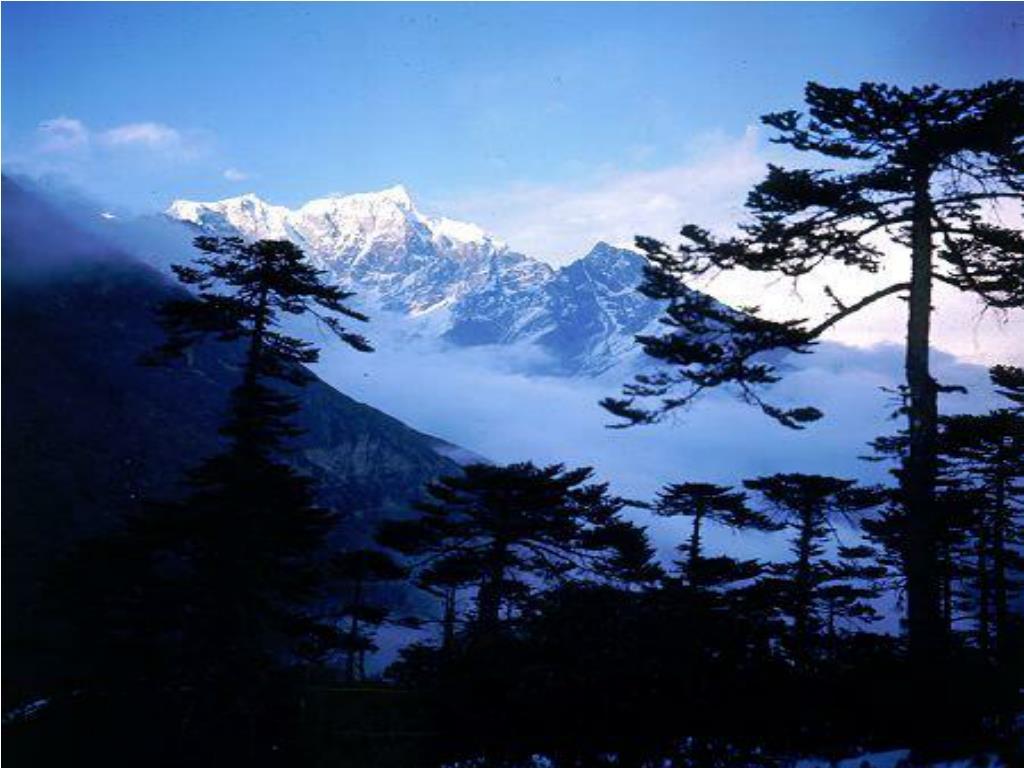 Mount Everest, Sagarmatha National Park, Nepal