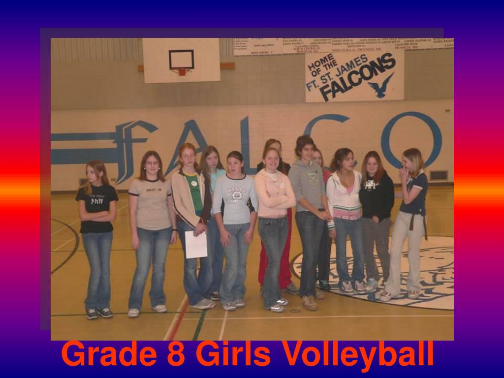Grade 8 Girls Volleyball