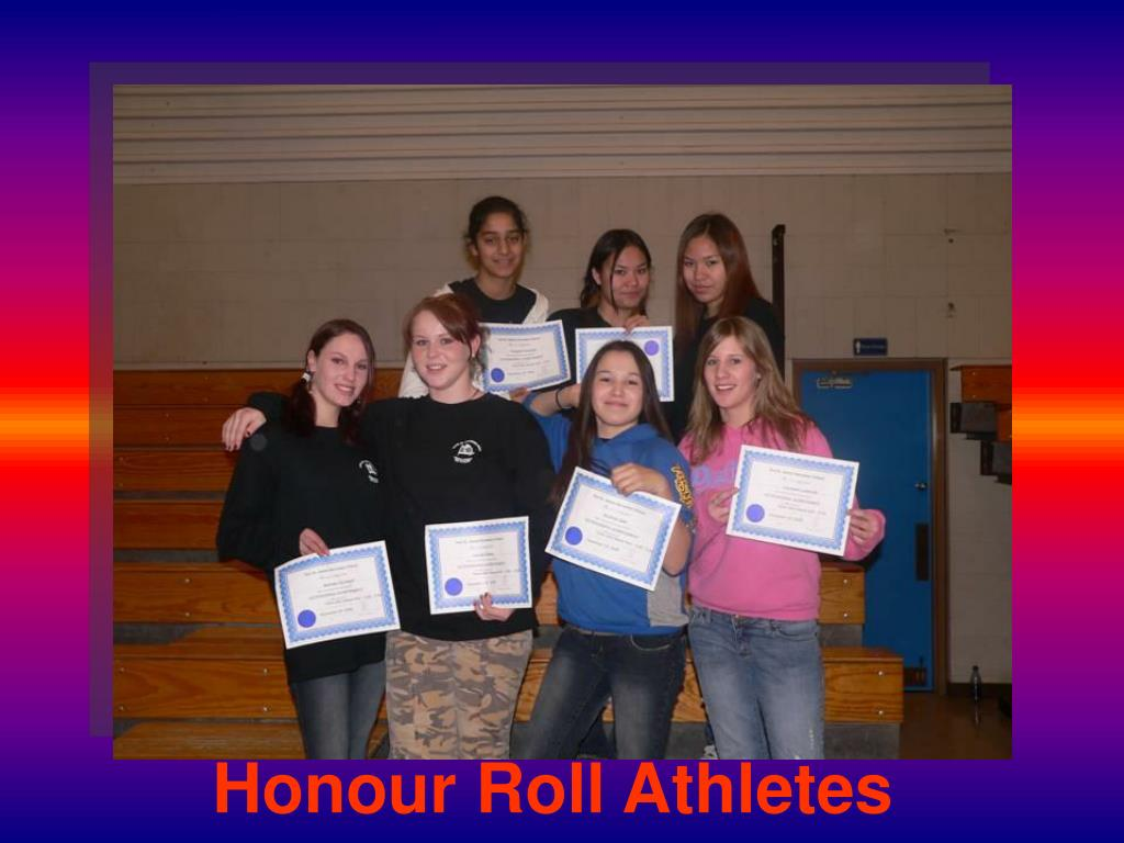 Honour Roll Athletes