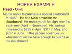 ropes example