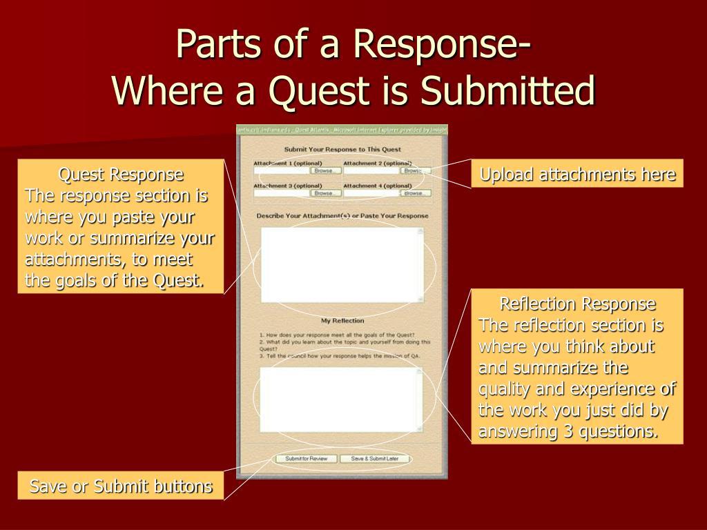 Parts of a Response-