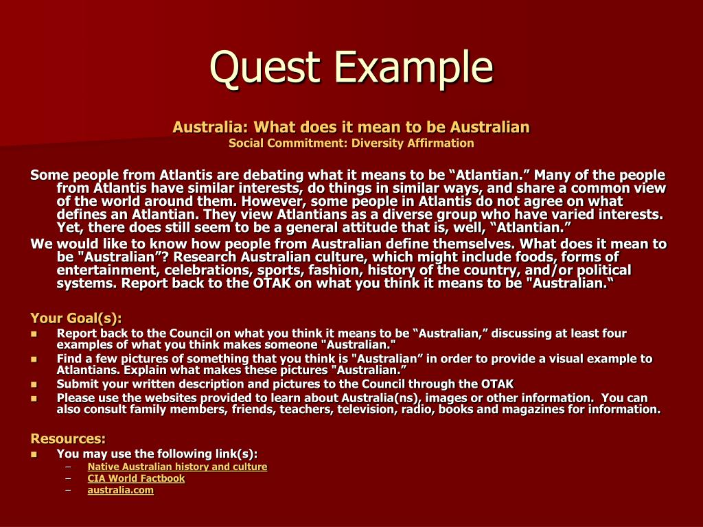Quest Example