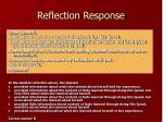 reflection response