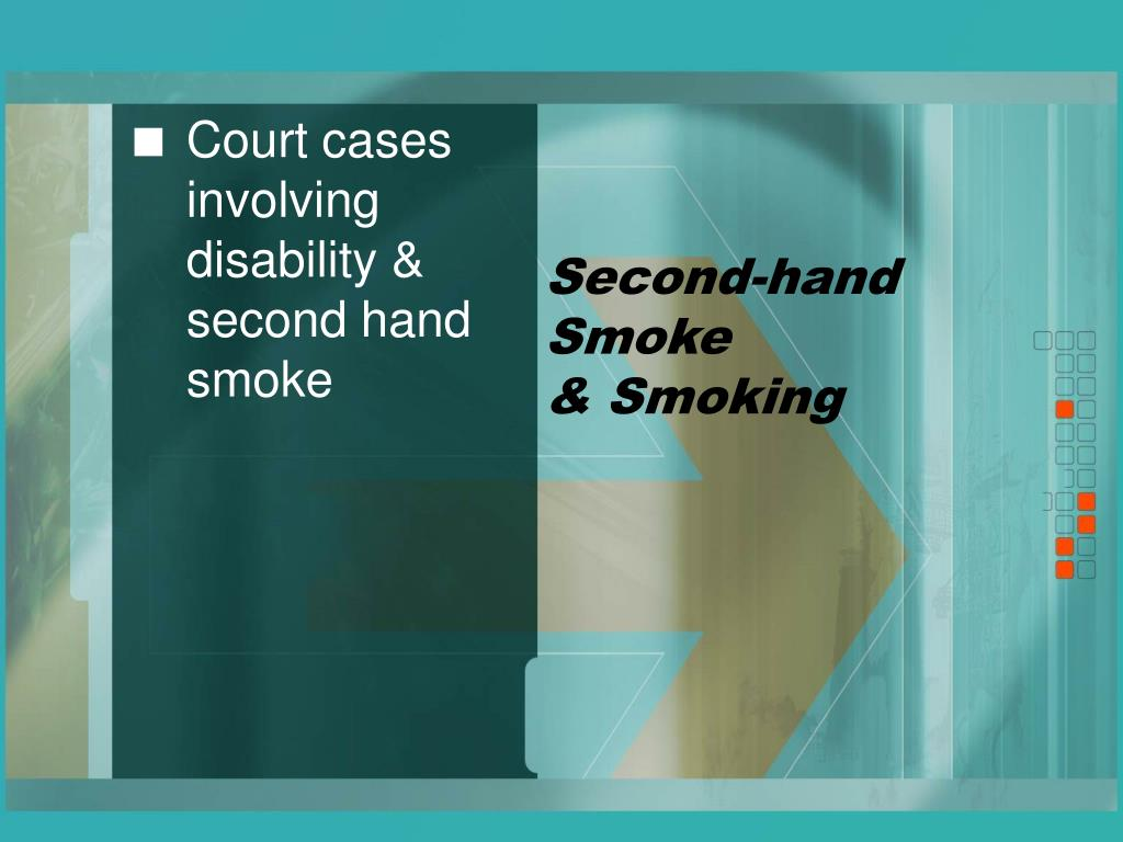 Second-hand Smoke