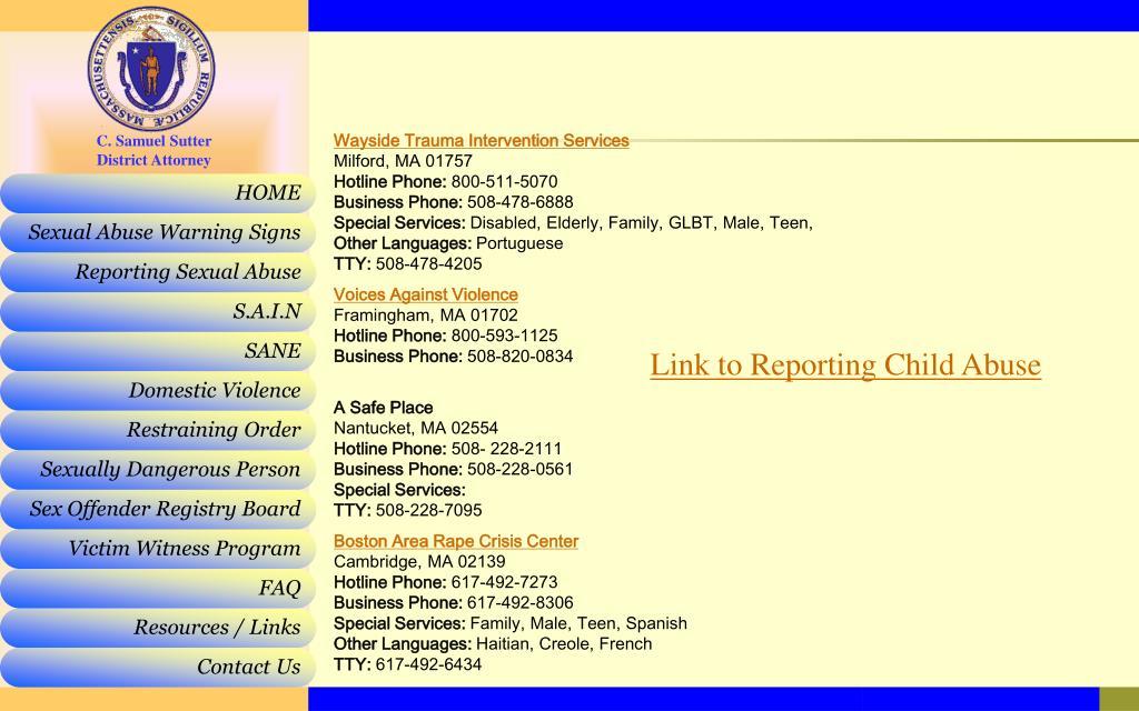 Wayside Trauma Intervention Services