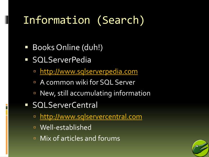Information (Search)
