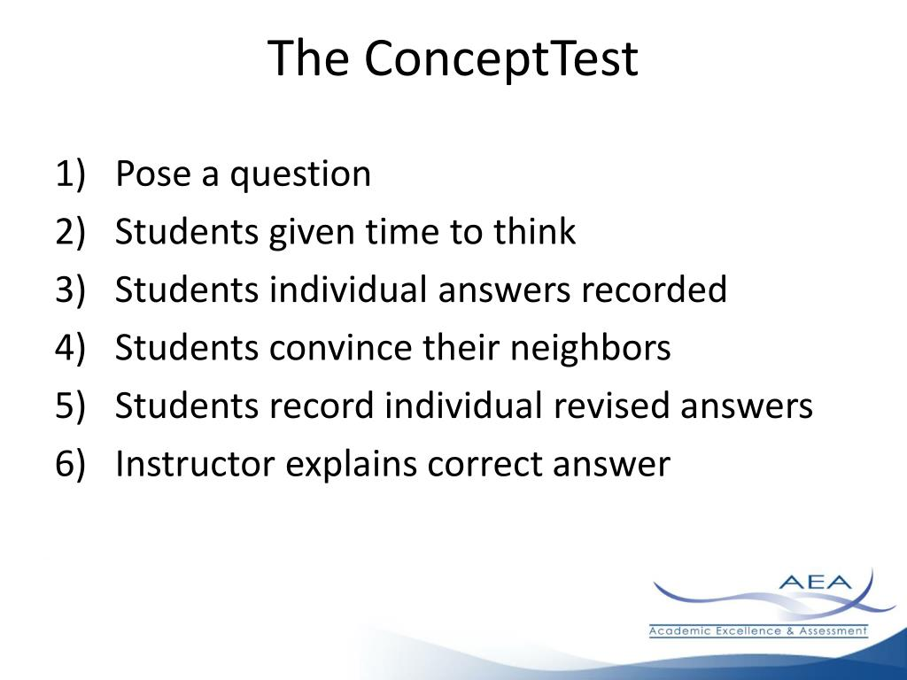 The ConceptTest