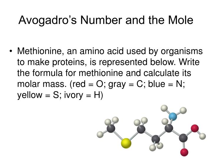 avagadros number essay Calculate avogadro's number from two different measurements first, the volume of hydrogen gas formed at the cathode can be measured and.