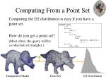 computing from a point set33