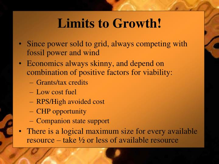 Limits to Growth!