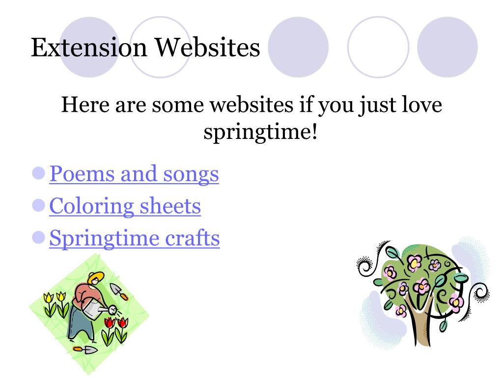 Extension Websites