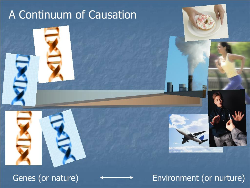 A Continuum of Causation