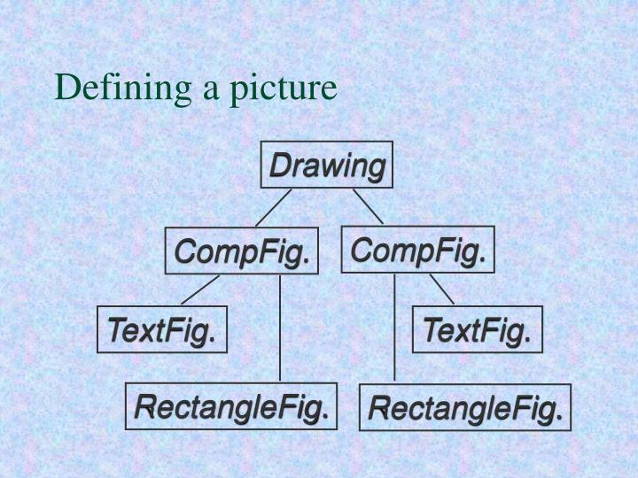 Defining a picture