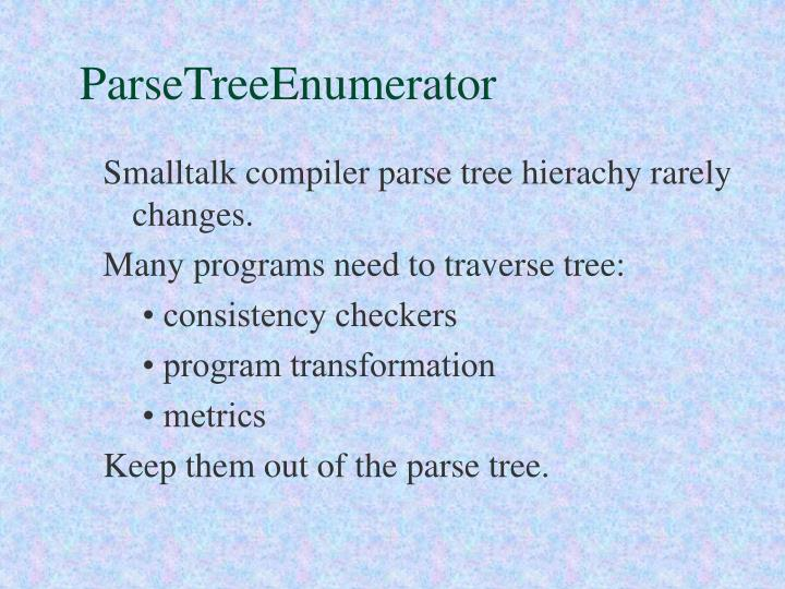 ParseTreeEnumerator