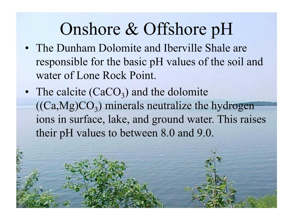 Onshore & Offshore pH