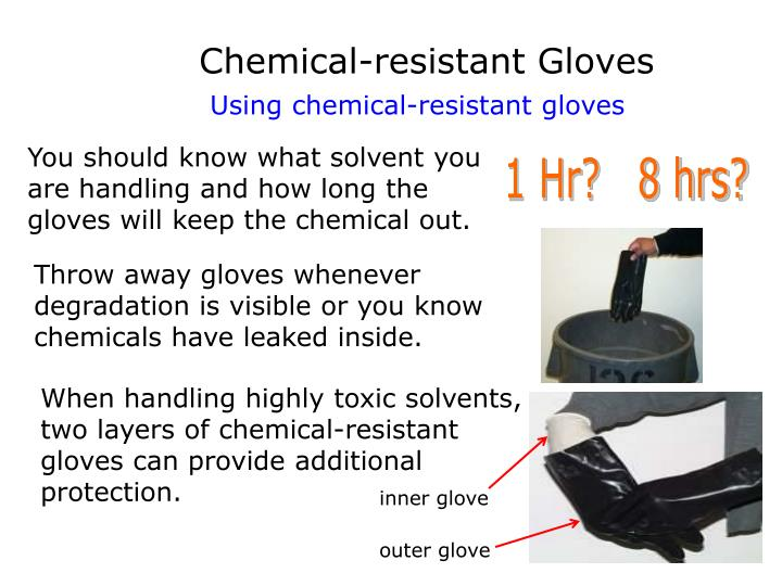 Chemical-resistant Gloves