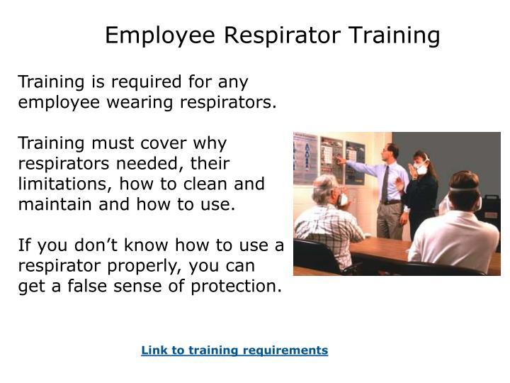 Employee Respirator Training