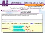 automatic generation of cl foundation from nsf darpa nasa digital library initiative 115
