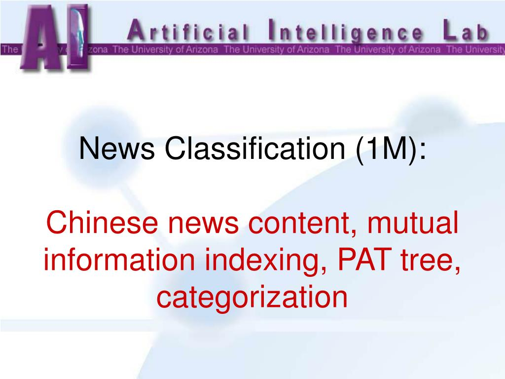 News Classification (1M):
