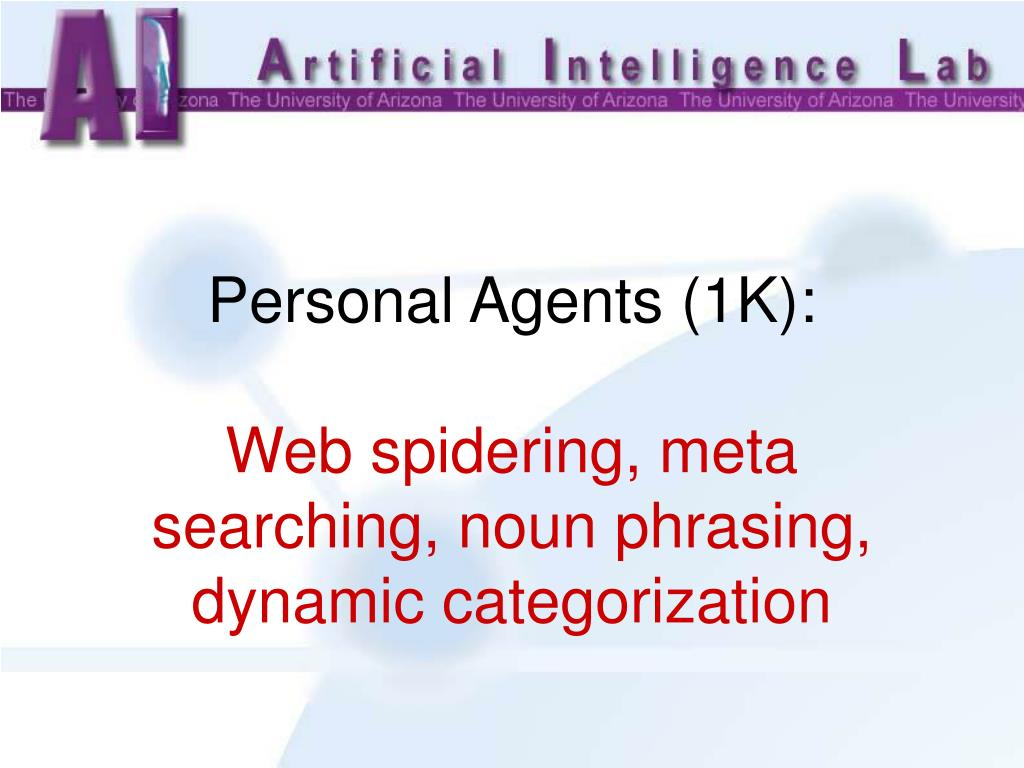 Personal Agents (1K):