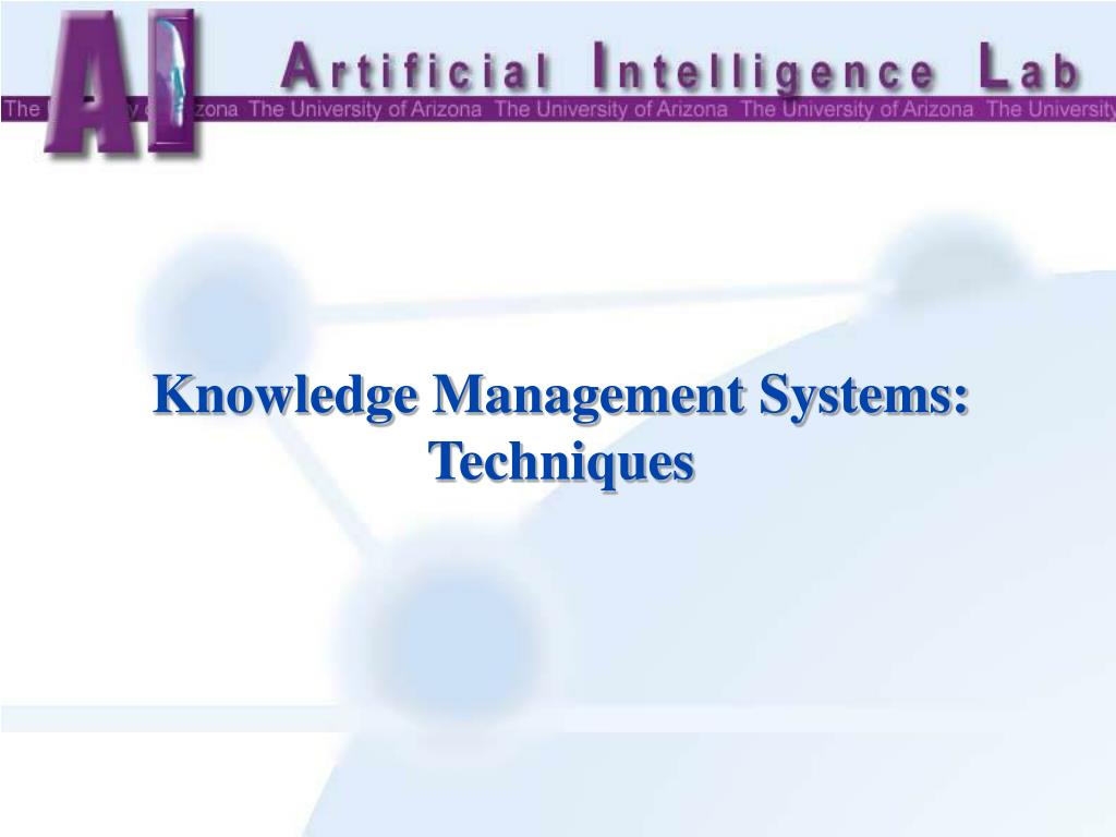 Knowledge Management Systems: