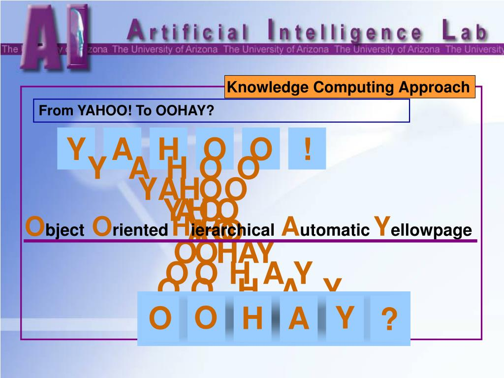 Knowledge Computing Approach