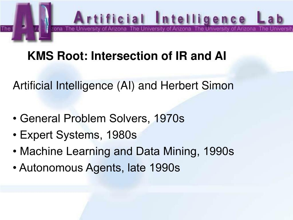 KMS Root: Intersection of IR and AI