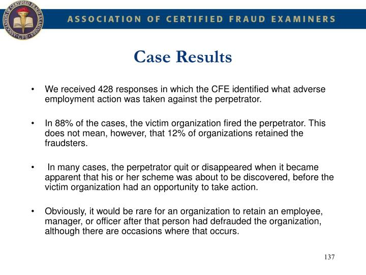 Case Results
