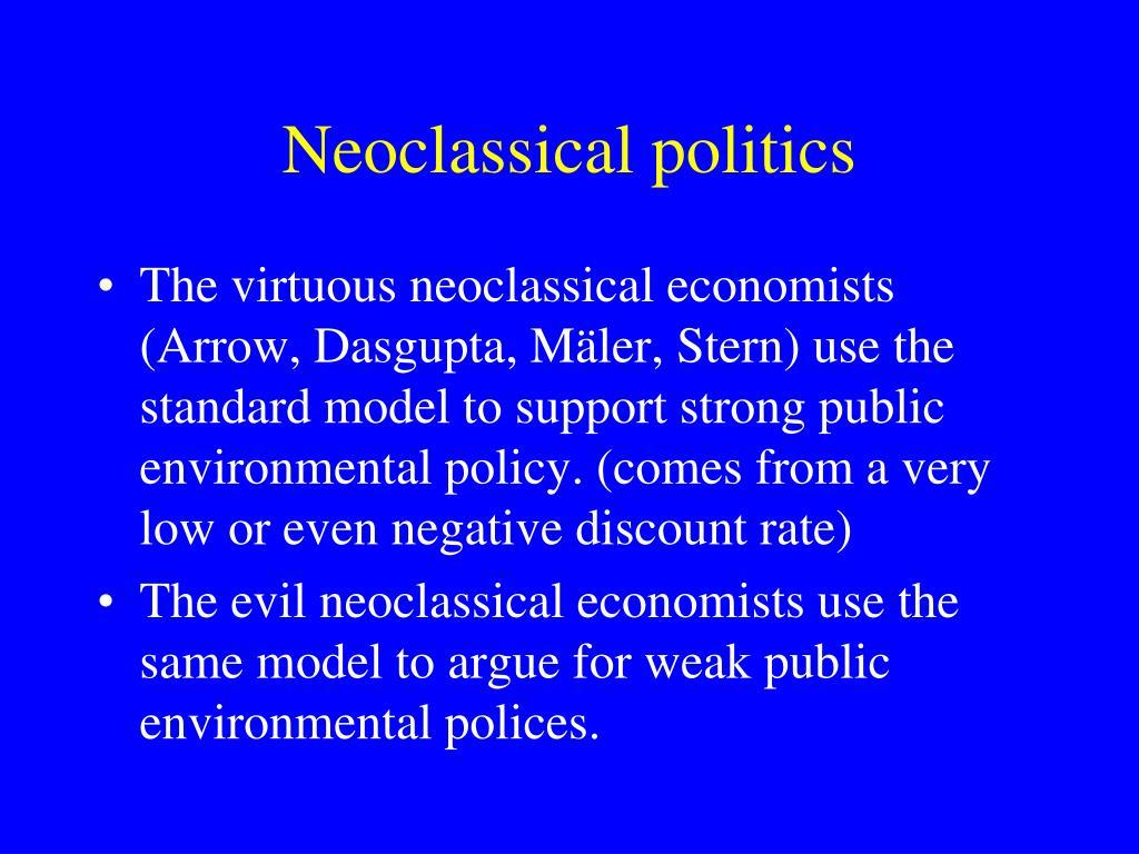 Neoclassical politics