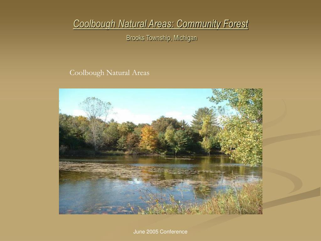 Coolbough Natural Areas: Community Forest