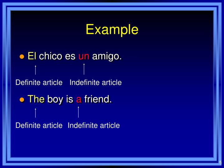 spanish articles or blog posts powerpoint