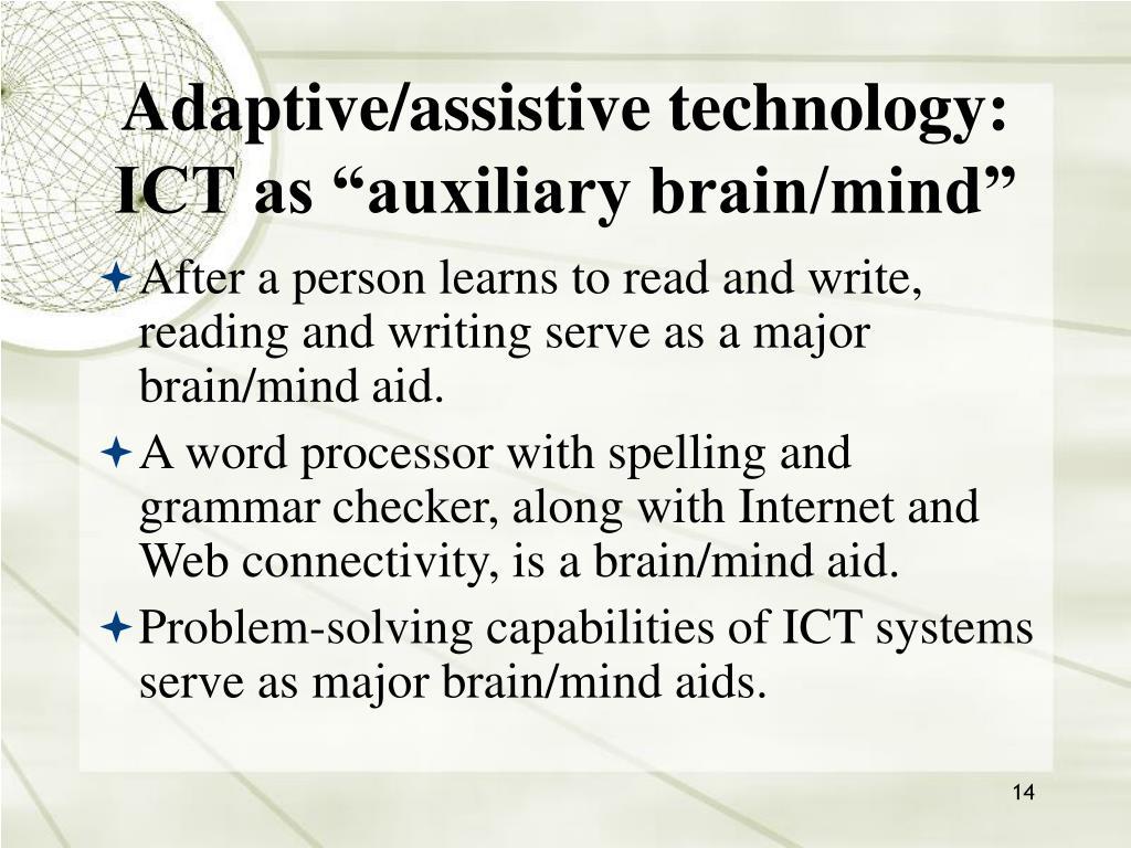 Adaptive/assistive technology: