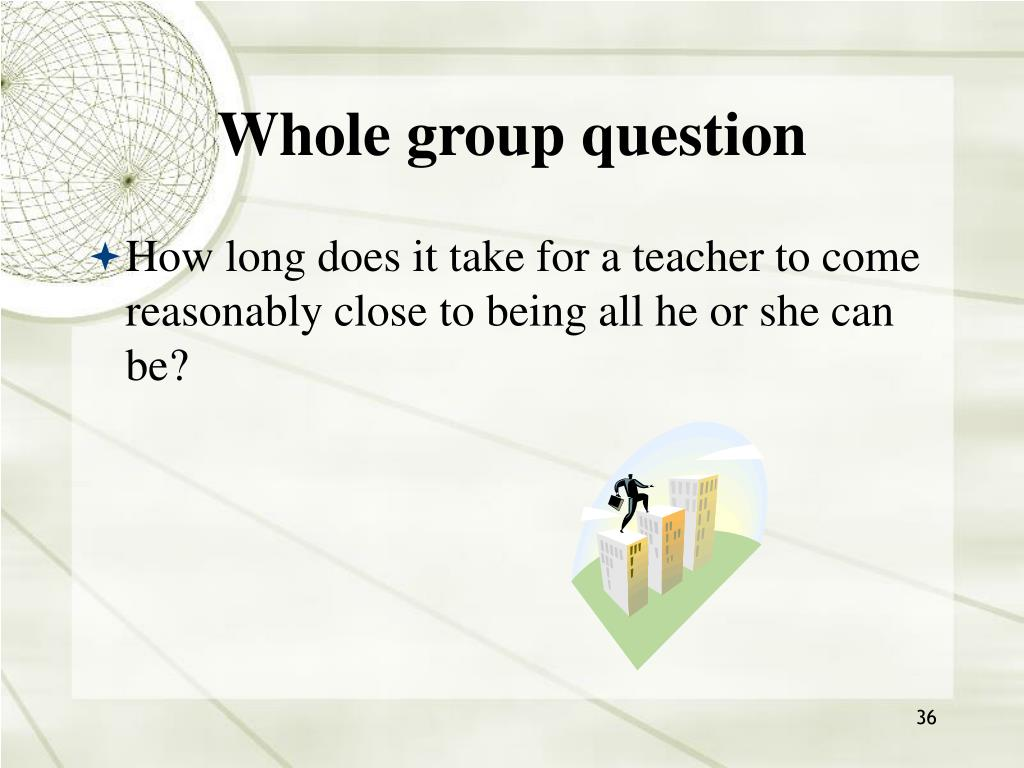 Whole group question
