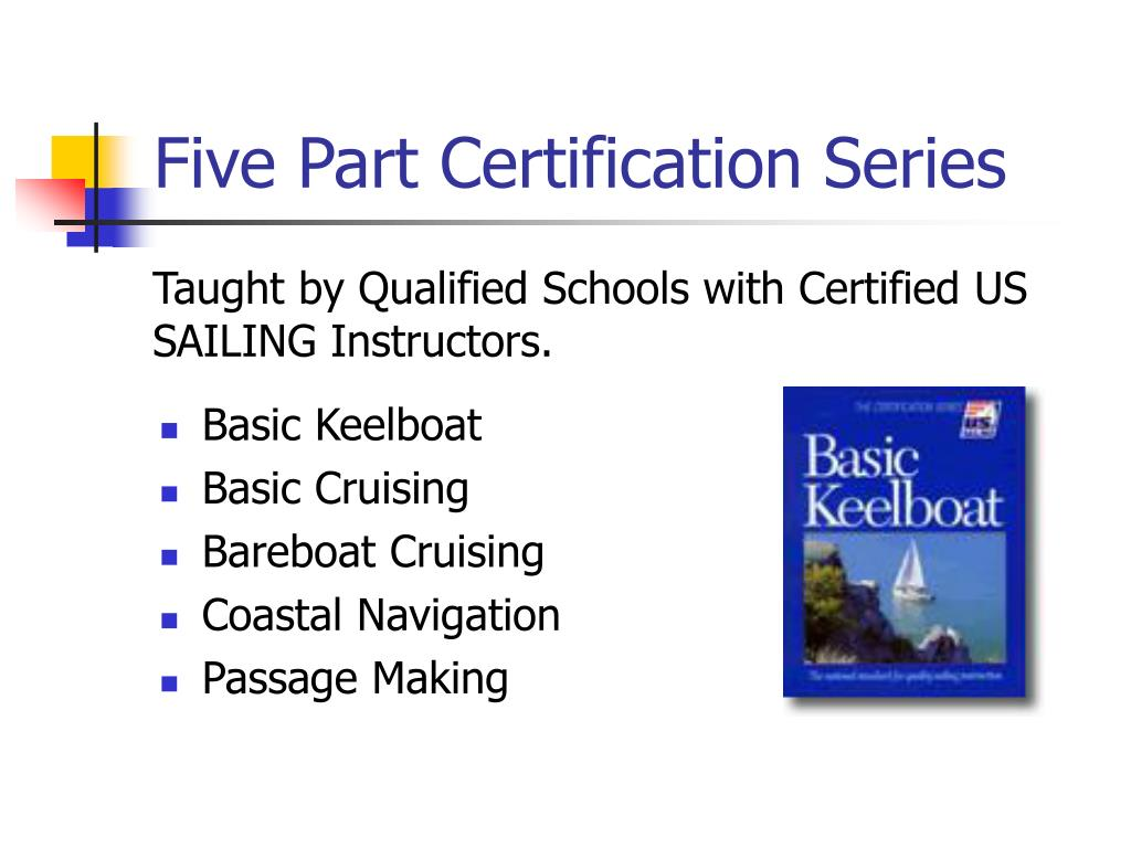 Five Part Certification Series