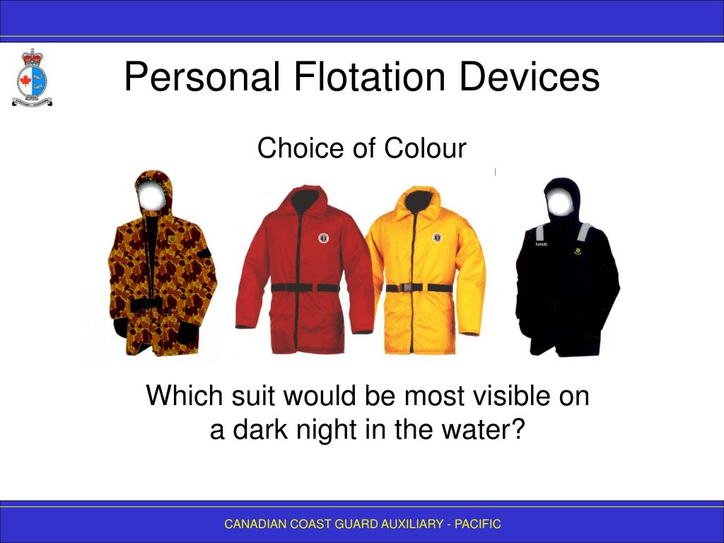Personal Flotation Devices