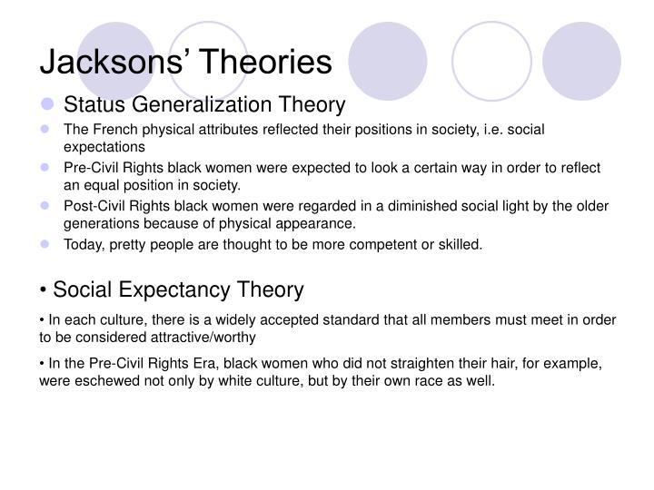 Jacksons' Theories