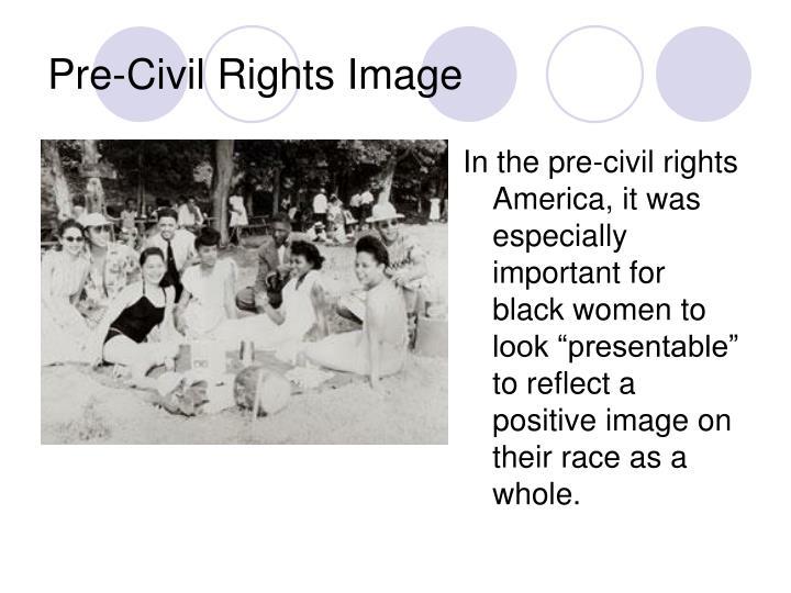 Pre-Civil Rights Image