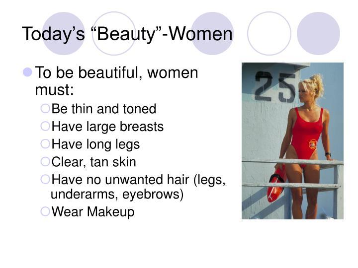 """Today's """"Beauty""""-Women"""