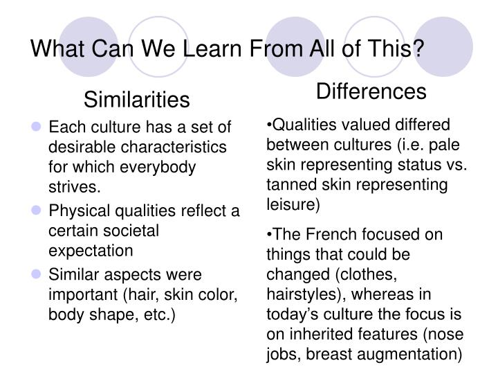 What Can We Learn From All of This?
