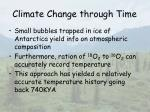 climate change through time11