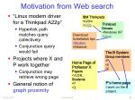 motivation from web search