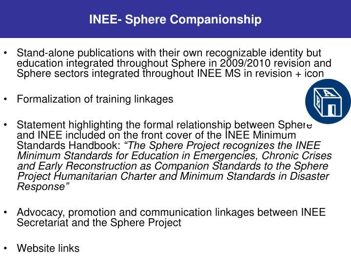 INEE- Sphere Companionship