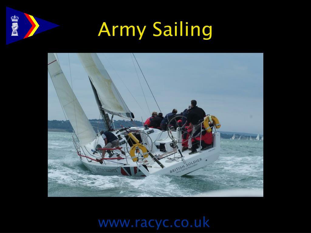 Army Sailing