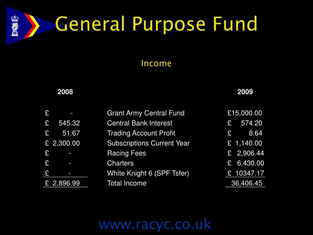 General Purpose Fund