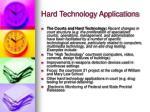 hard technology applications