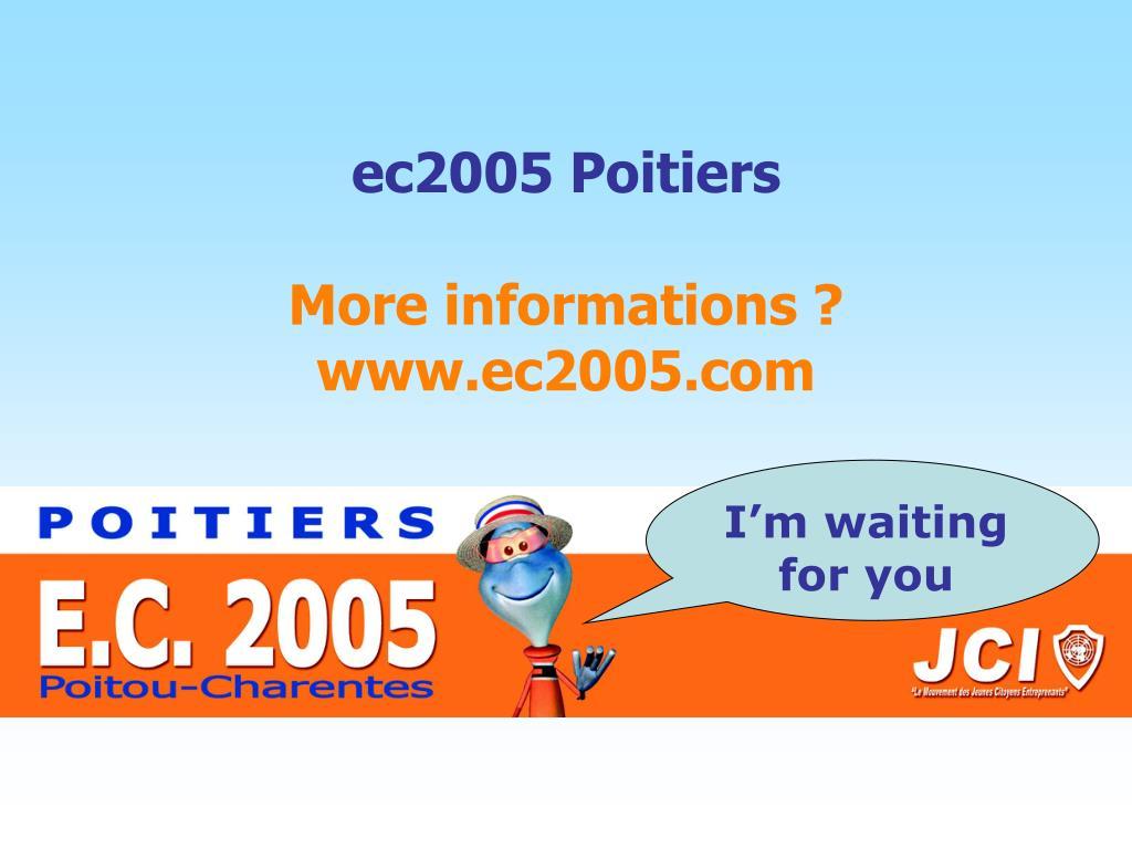 ec2005 Poitiers