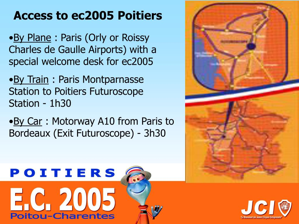 Access to ec2005 Poitiers
